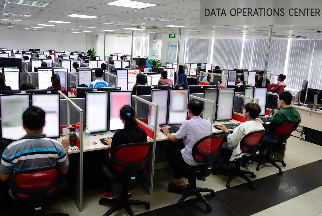 Data Operations Center of a Vietnam BPO Company