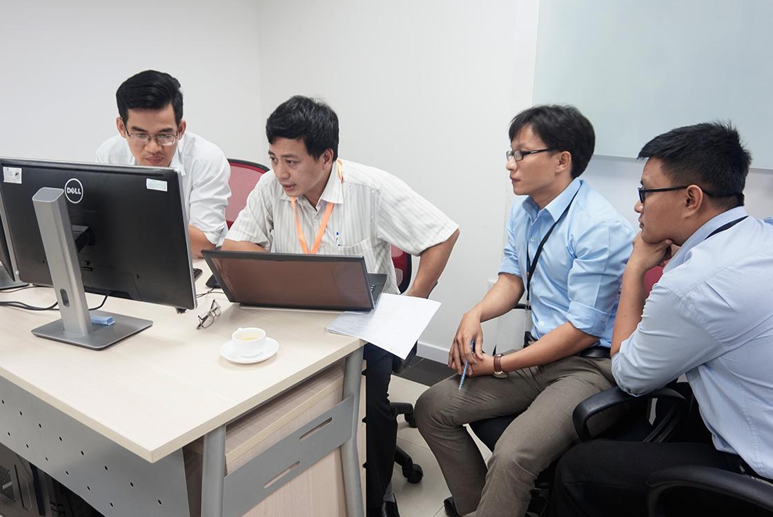 Đánh giá ISO phòng lập trình SaigonBPo