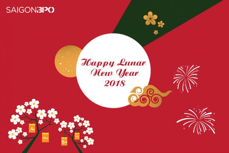 SÀI GÒN BPO chúc mừng năm mới 2018